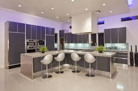 Kitchen Awesome Led Kitchen Lighting For Modern Gray Kitchen Cabinet Led  Kitchen Ceiling Lighting