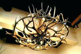 faux antler chandelier for chandeliers small antler chandelier painted deer for faux white small