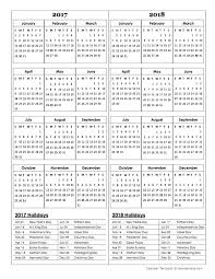 yearly calendar 2017 template printable year calendar 2018 save btsa co