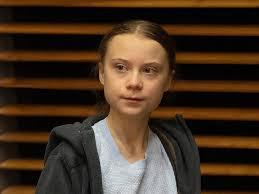 Greta Thunberg: With her schoolbag and bicycle in tow, Greta Thunberg  returns to class after a year's gap - The Economic Times