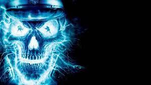 Electric Skull Halloween Live Wallpaper ...