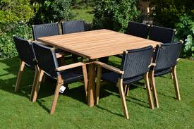 garden table and chair sets india. 8 seater square teak set - india large view the full image modern designer with rehau® weave · plastic chairs garden table and chair sets 9