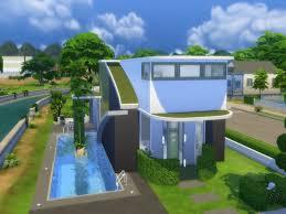 Small Picture Sims 4 Futuristic Design house