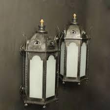 gothic lantern lighting. English Gothic Bronze Antique Wall Lanterns Lantern Lighting