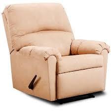 simmons recliner. simmons victory lane rocker recliner, taupe microfiber recliner