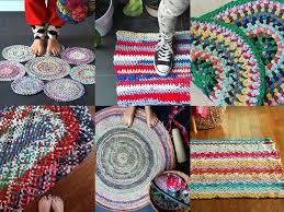 how to make a rag rug 7 ways mypoppet com au