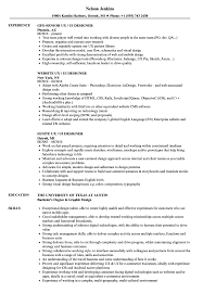 Ux Ui Designer Resume Samples Velvet Jobs