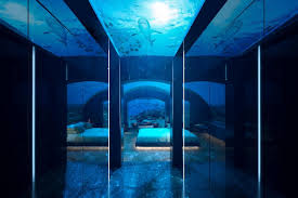 poseidon underwater hotel. Real Underwater Hotel. Hotel Room In Maldives Poseidon U