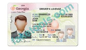 Fake Georgia Make Drivers License