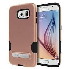 samsung galaxy s6 gold case. seidio dilex pro case with metal kickstand rose gold samsung galaxy s6 s