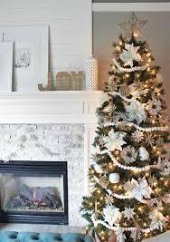 Decorating Christmas Tree With Balls Christmas Tree Decoration White And Silver As Christmas Tree 75