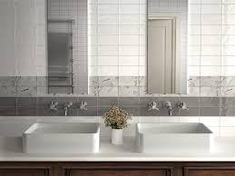 Other Kitchen : Brick Setting Fresh Kitchen Wall Tiles Effect ...