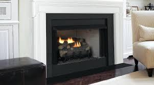 ventless propane fireplace logs oakwood 24 in vent free propane gas fireplace logs
