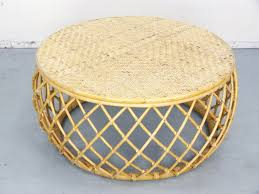 classy round bamboo coffee table for your diy home interior ideas with round bamboo coffee table