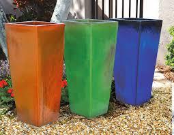 New Ceramic Outdoor Planters Modern Innovation Design