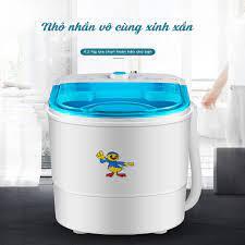 MÁY GIẶT MINI CAO CẤP TIỆN LỢI vắt khô quần áo nhanh chóng [BẢO HÀNH 24  THÁNG] - ShopeeCheck.com