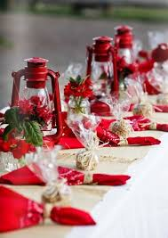 red christmas table decorations. Enchanting Red And White Table Decorations With 25 Best Christmas Tables Centerpieces Images On Pinterest E