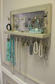 20 Amazing And Totally Useful DIY Jewelry Organizers