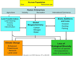 biodiversity and human population growth human population