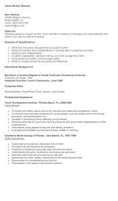 Social Work Resumes Best Cover Letter Examples For Entry Level Social Work Resume Yomm