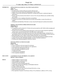 Medical Office Manager Resume Templates Summary Examples Sa Sevte