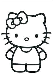 Kitty Coloring Pages Free To Print Hello Kitty Coloring Pages Free