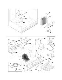 frigidaire refrigerator thermostat wiring diagram wiring diagram plef398ccc electric range body parts diagram
