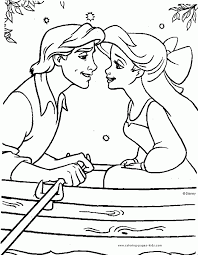 Small Picture 100 Ideas Printable Coloring Pages The Little Mermaid On within