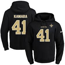 Men's Alvin New Pullover Football Saints Orleans 41 Hoodie amp; For Black Number Sale Name Kamara|Growth Stocks And Tom Brady