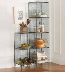 Kitchen Towel Storage Classic Wire Shelving Units With Steel Pantry Shelving Unit Design