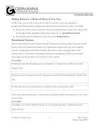Mla Format Online Essay Formats Mla Format Essay Citation 3 Provided By Tutoring