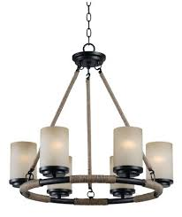 6 light chandelier hunter lighting golden flecked bronze 6 light chandelier at dsi 6 light led