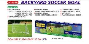 How To Make A Football Goal Post At Home  YouTubeBackyard Soccer Goals For Sale