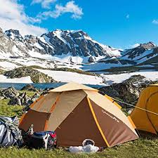 ZOMAKE <b>Dome Tent</b> for Camping 3 4 Person - Waterproof Instant ...