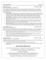 Test Analyst Sample Resume Cover Letter Sample
