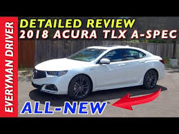2018 acura a spec review.  2018 detailed review 2018 acura tlx aspec on everyman driver on acura a spec review