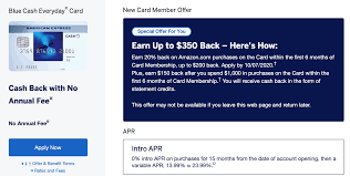 It has a decent welcome offer. American Express Blue Cash Everyday 350 Signup Offer 200 Amazon Discount 150 Statement Credit Doctor Of Credit