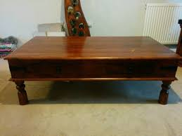 john lewis maharani coffee table with four drawers