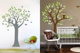 Baby Nursery Decor, Tree Branch Baby Boy Owl Nursery Decoration Removable  Sticker Stunning Handmade Premium