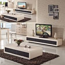 minimalist living room set folding retractable glass coffee table with regard to best and newest coffee