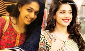 sanam jung with and without make up