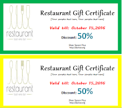 Word Templates For Gift Certificates Restaurant Gift Certificate Template Word Gimpexinspection Com