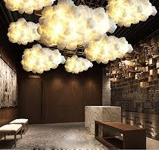 cloud lighting fixtures. injuicy lighting loft cloud e27 led droplight silk pendant lamp bar cafe balcony ceiling light fixtures