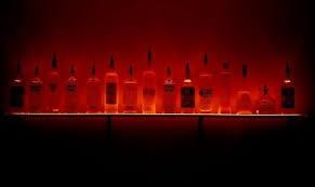 Bar Bottle Display Stand Buy 100ft LED Lighted Liquor Bottle Display Shelves Home Bar 93