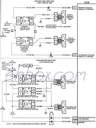 4th gen lt1 f body tech aids cooling fans schematic