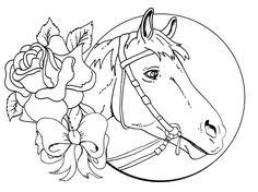 Small Picture Horse Coloring Pages Horse Construction paper and Card stock