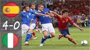 Spain vs Italy 4-0 Final Euro 2012 ...