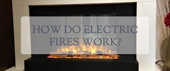 how do electric fireplaces work