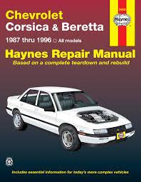 chevrolet corsica beretta 87 96 haynes repair manual haynes beretta 87 96 haynes repair manual enlarge chevrolet