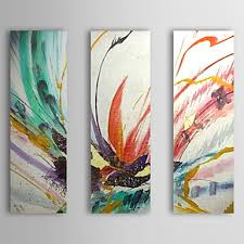 modern canvas art. Contemporary Art In Modern Canvas Painting Wall Hanging Big Abstract Paintings 3 1 Set Fire Bird Animals Peacock Flight Ordered Ships Will R
